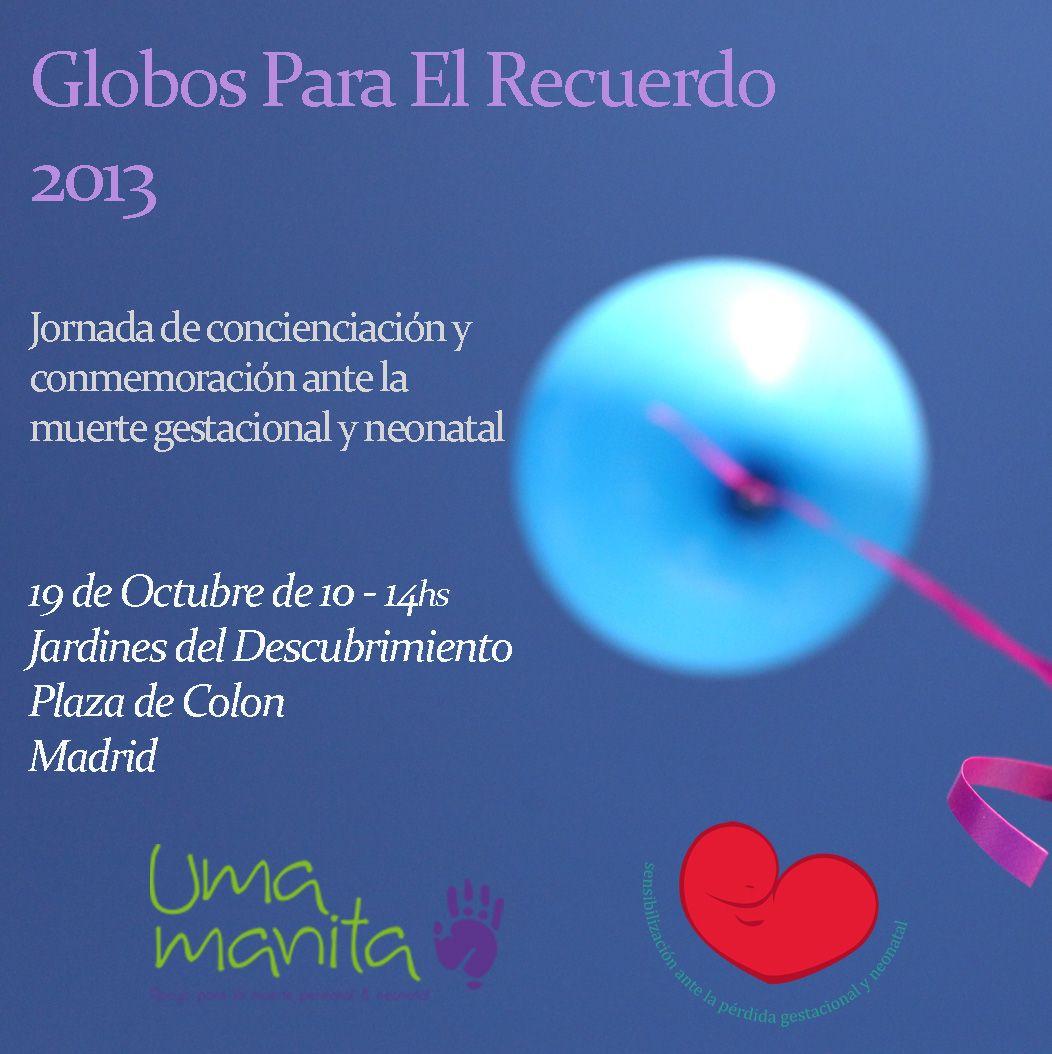 Globos para el Recuerdo 2013-Anuncio